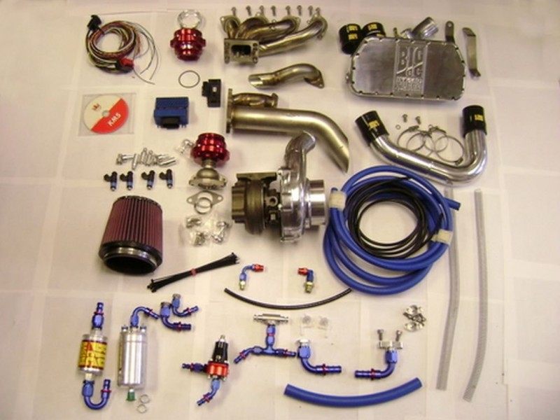 GSXR 1000 K5/K6 Modular Stage 2 Turbo System - Big CC Race Shop